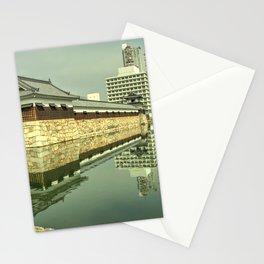 Hiroshima Castle Reflections Stationery Cards