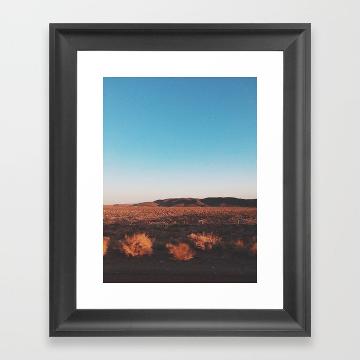 Desert Tranquility Gerahmter Kunstdruck