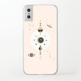 The Spring Moon Clear iPhone Case
