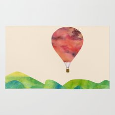 Sunset balloon Rug