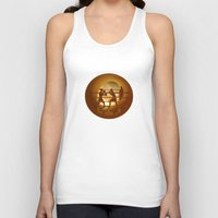 boxing Tank Tops featuring Boxing (Boxe) by Anastassia Elias