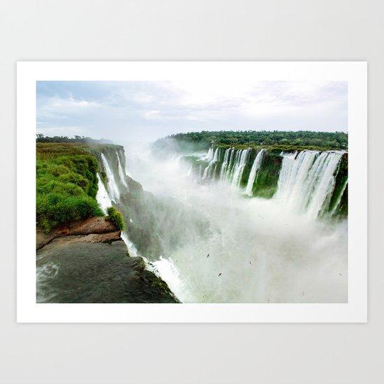Devil's Throat at Iguazu Falls Fine Art Print by sidecarphoto