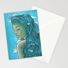 Siren of the Seas Stationery Cards