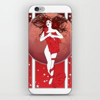 mars iPhone & iPod Skins featuring Mars by Andrew Mark Hunter