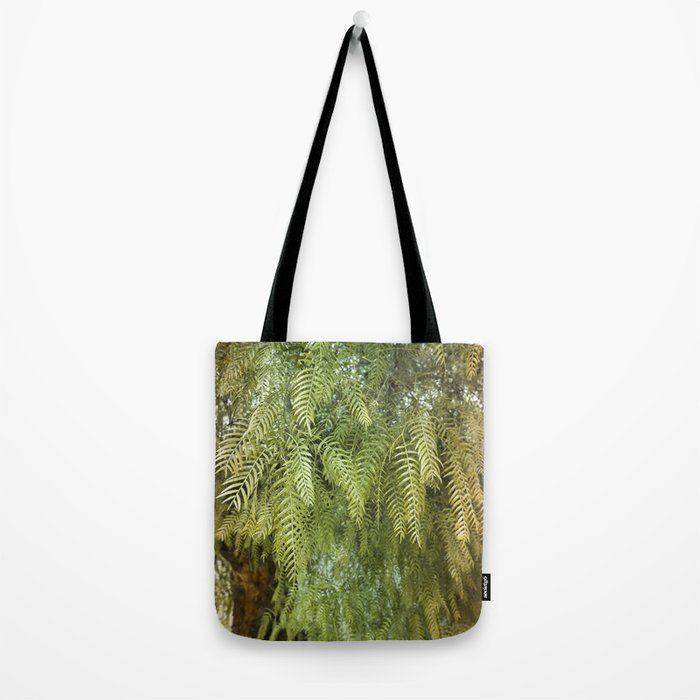 Green Tree. Vegetal Photography Tote Bag