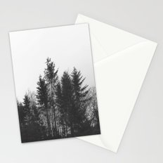 black trees Stationery Cards