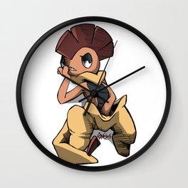 Badass Scrafty Wall Clock