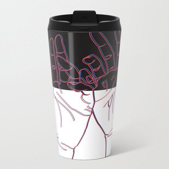 Blackout Metal Travel Mug