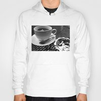 cafe Hoodies featuring cafe by Emily Baker Photography and Design