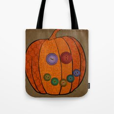 Patterned pumpkin  Tote Bag