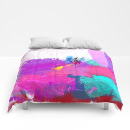 polo abstract Comforters