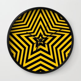 Stars - bee vers. Wall Clock