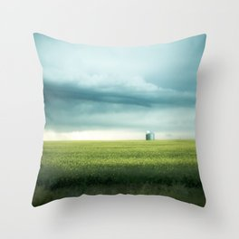 Alberta Prairies Throw Pillow