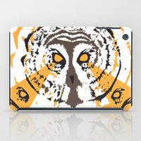 psych iPad Cases featuring Psych Owl by T Dupuis