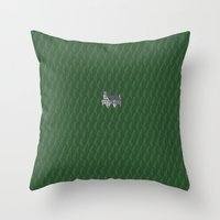 german Throw Pillows featuring German Castle by Messer Piter