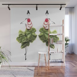 Edible Ensembles: Radish Wall Mural