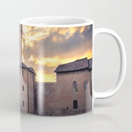 The Formigine castle in province of Modena - Emilia Romagna region - Italy local landmarks Coffee Mug