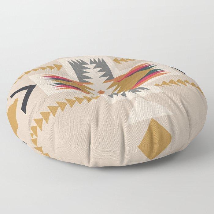 goldenflower Floor Pillow