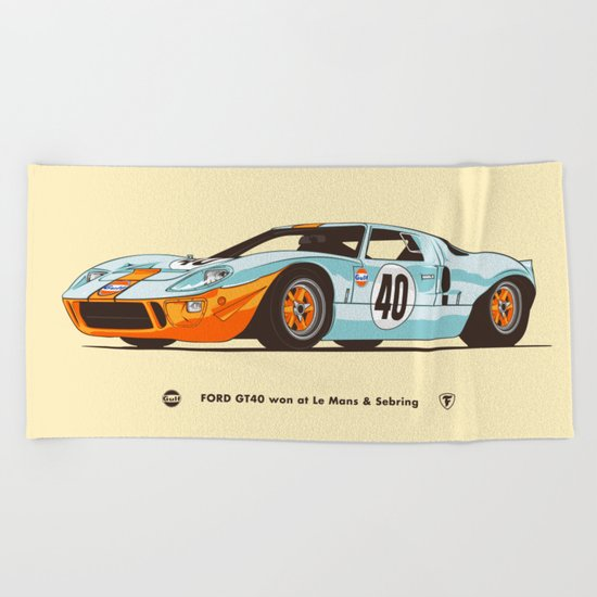 1969 Beach Towel