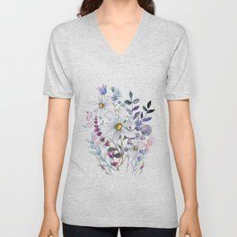 Wildflowers V Unisex V-Neck