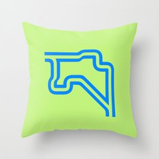 Groningen - Outline Throw Pillow