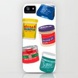 Pressing Oils iPhone Case
