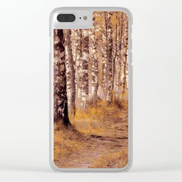 Come away with me Clear iPhone Case