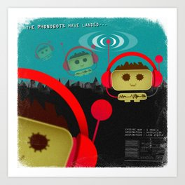 Phonobot - 01 Art Print