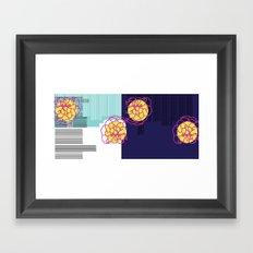 spaces Framed Art Print