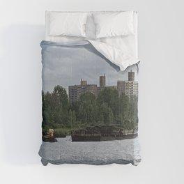 Coney Island Shipwreck Photo Comforters
