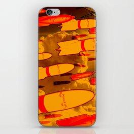 Rockets Man iPhone Skin