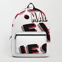 Jesus Easter April Fools Day Backpack