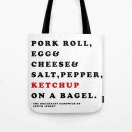 South Jersey Breakfast Tote Bag