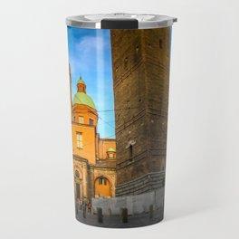 Bologna, Italy Two Towers or Due Torri Travel Mug