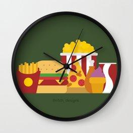 Foodie Wall Clock