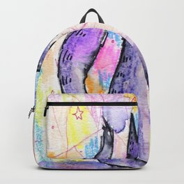 Gato de Colores Backpack