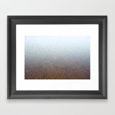 Silent water Framed Art Print