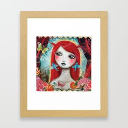 Alice's on Stage by CJ Metzger Framed Art Print