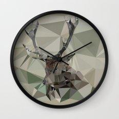 Cervus Elaphus Wall Clock