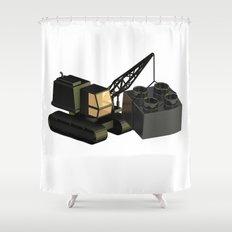 Duplo Construction Shower Curtain