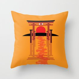 Tori Gate Throw Pillow