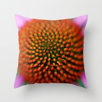 medicine Throw Pillows featuring Medicine by William Denson