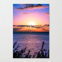 Sunrise 0102 Malibu Canvas Print