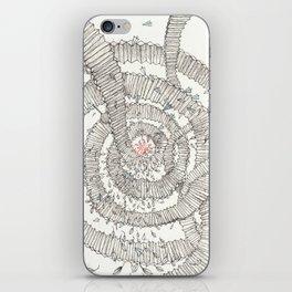 Santa is coming!!! iPhone Skin
