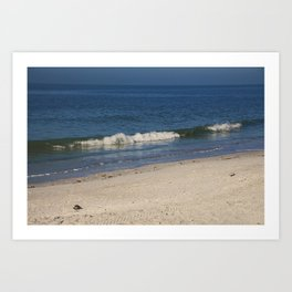 Waking Waves Art Print