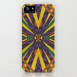 Purple Cross iPhone Case