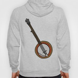 B is for Banjo, typed. Hoody