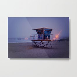 The Blue Hour at Avila Beach Metal Print