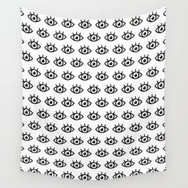 Eye pattern Wall Tapestry