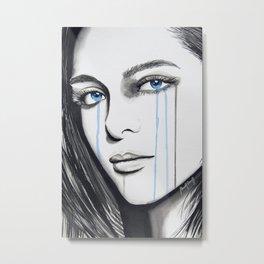 La Femme de Mon Ami Metal Print